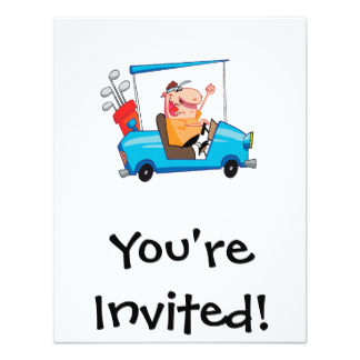 You're invited Golf