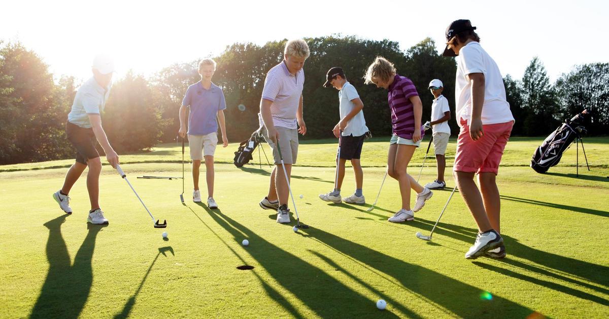Golftrening 2