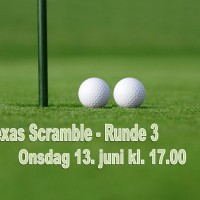 Texas Scramble - Runde 3