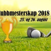 Klubbmesterskap 2018-1