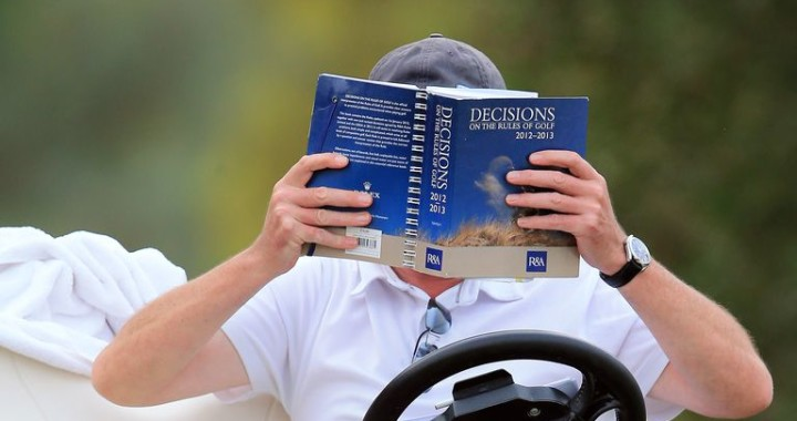 golf-rule-book-official