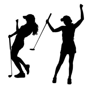 33593211-stock-vector-vector-silhouette-of-the-woman-who-plays-golf-