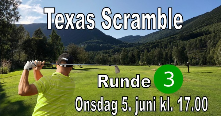 Texas Scramble - Runde 3 - 2019