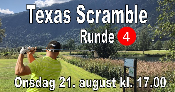 Texas Scramble - Runde 4-2 - 2019