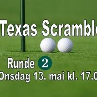 Texas Scramble - Runde 2-2020