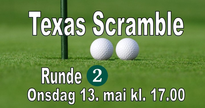 Texas Scramble - Runde 2-2020